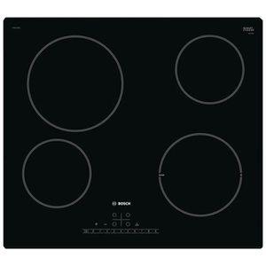 PLAQUE VITROCÉRAMIQUE  Bosch - plaque de cuisson vitrocéramique 60cm 4 fe