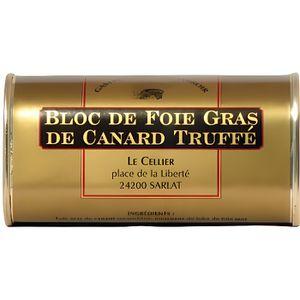 FOIE GRAS Bloc de Foie Gras de Canard Truffé 200g