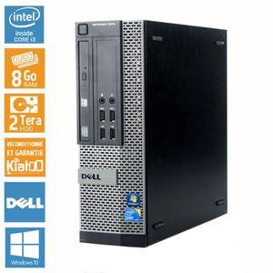UNITÉ CENTRALE  Pc bureau DELL OPTIPLEX 790 intel core i3 8 go r