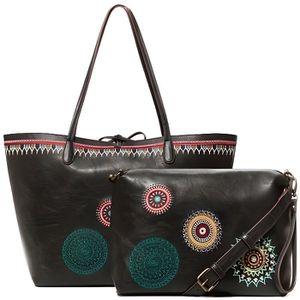 POCHETTE Desigual Siara Capri sac shopper avec maxi Pochett