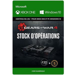 EXTENSION - CODE DLC Gears of War 4: Stock d'Opérations pour Xbox O