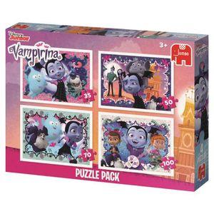 PUZZLE Jumbo Disney Vampirina 4 Puzzles, Jigsaw puzzle, D