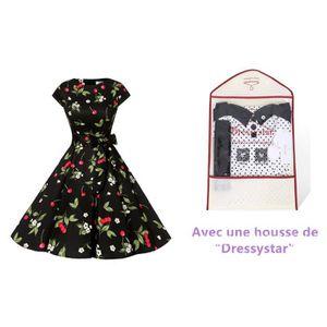 ROBE Dressystar DS1956 Robe à 'Audrey Hepburn' Classiqu