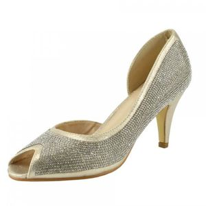 ESCARPIN Ladies Classic Party Talons Looks ouvert chaussure