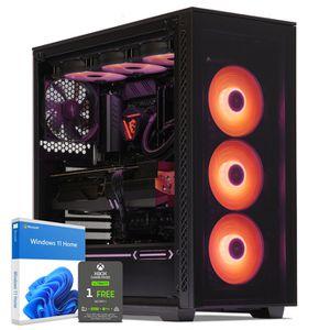 UNITÉ CENTRALE  PC Gamer, Intel i7, RXVega 56, 500Go SSD NVMe M.2