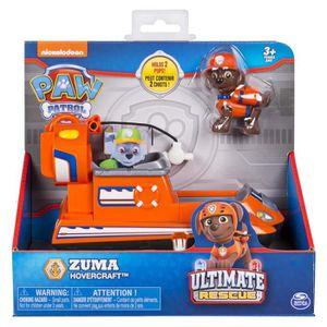 FIGURINE - PERSONNAGE PAT PATROUILLE Zuma véhicule et Figurine Ultimate