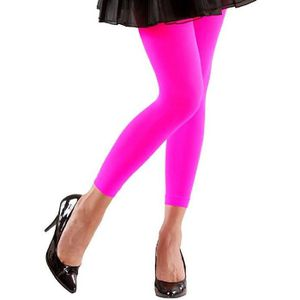 COLLANT SANS PIED Legging rose fluo - Taille M L Multicolore 56664bd31fa