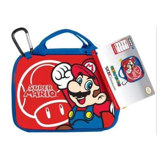 Sacoche de transport mario new 3ds xl achat vente for Housse 2ds mario