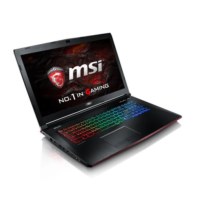 msi pc portable gamer ge62vr 6rf apache pro 267fr 15. Black Bedroom Furniture Sets. Home Design Ideas