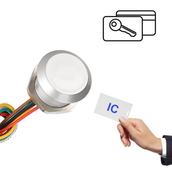 Interface étanche du lecteur Wiegand 26 - 34 de lecteur de contrôle d'accès intégré par mini contrôleur RFID (IC)-CHE