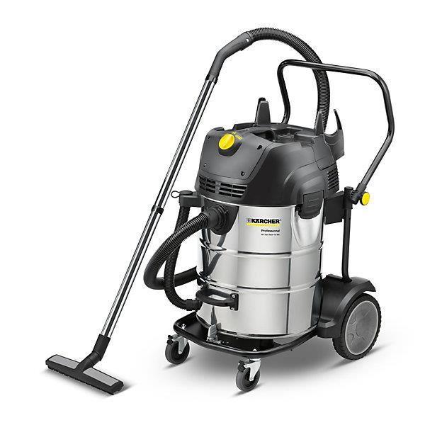 Kärcher Aspirateur eau et poussières - NT 75/2 Tact² Me, 2 x 1380 W poids 27,5 kg - Appareil de nettoyage Appareils de nettoyage
