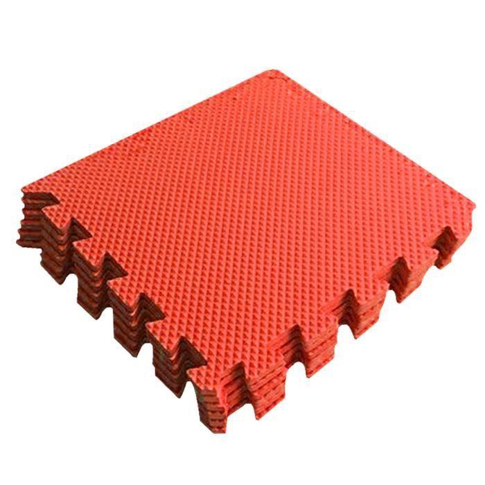 Maison de couleur foncée d'EVA de modernisation de tapis de plancher en bois d'imitation d'intérieur