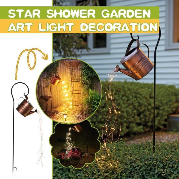 Star-Shower Jardin Art Lumière Décoration Jardin Piquet Lumières Cascade-Lampe Décor A00184OS