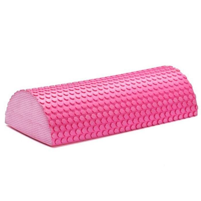 Tapis de sol,Rouleau demi cylindre en mousse EVA pour le Yoga,équipement utile pour l'entraînement, blocs, - Type Pink 30cm