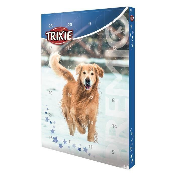 TRIXIE Calendrier de l'Avent Premio - 24,5 x 37 x 3,5 cm - Pour chien x 3