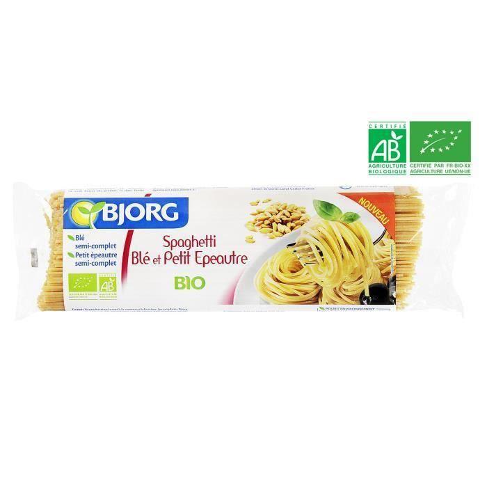 BJORG Spaghetti Blé Petit Epeautre Bio 500g