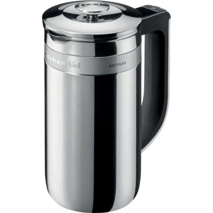 Kitchenaid - cafetière à piston 6 tasses 0.74l inox - 5kcm0512ess