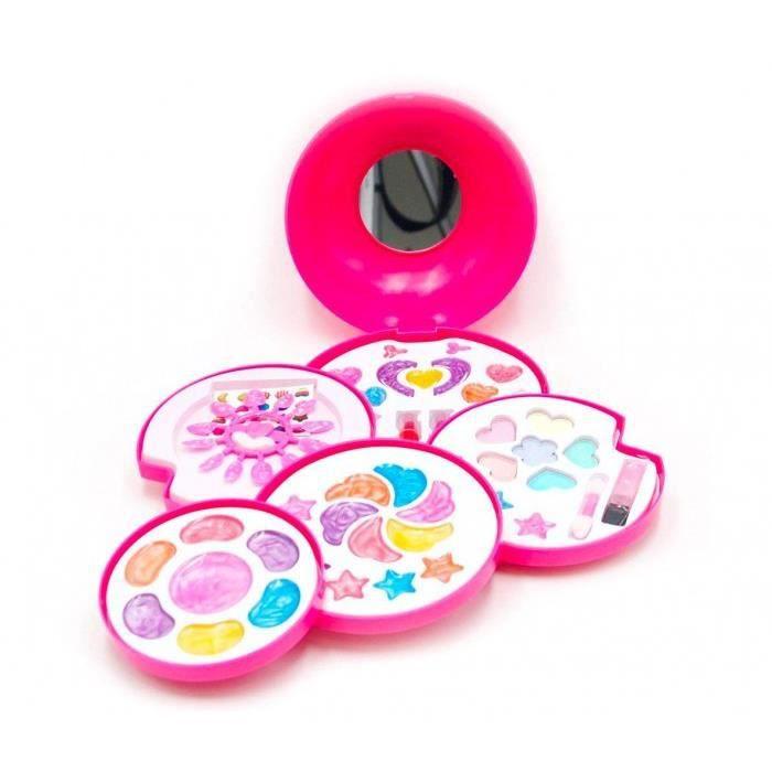 002504 Set de maquillage pour enfants 5 éléments Tachan Box avec miroir 40x26cm