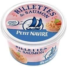 Rillettes saumon 125 g Petit Navire