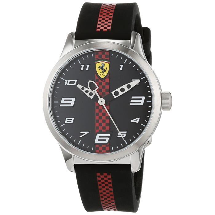 Montre Mixte Scuderia Ferrari 860002