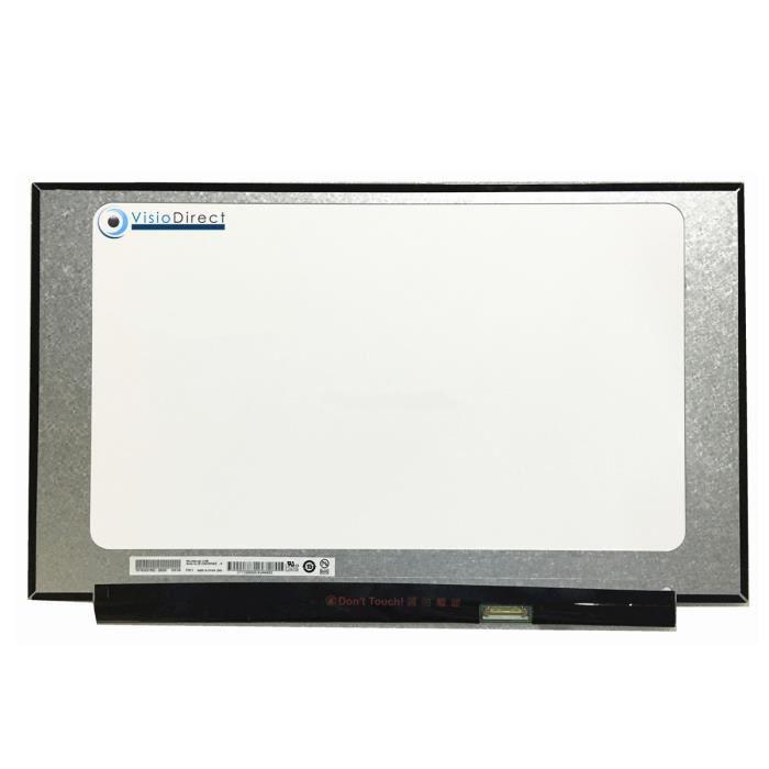 Dalle ecran 15.6- LED compatible avec LENOVO IDEAPAD S340 81N8 Series 1920X1080 30pin 350 mm sans fixation
