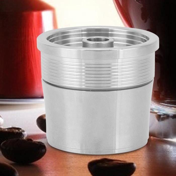 COMBINÉ EXPRESSO CAFETIÈRE Filtre réutilisable de tasse de capsule de café d'