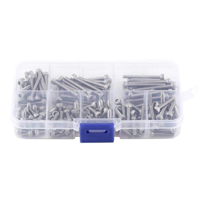 Lot de 25//à t/ête frais/ée m4/x 25//25/avec six pans DIN 7991/A2/en acier inoxydable