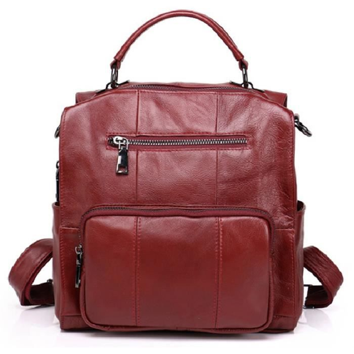 Femmes sac /à main,Sac /à bandouli/ère en cuir /à bandouli/ère en cuir pour femme,Sacs port/és dosGris