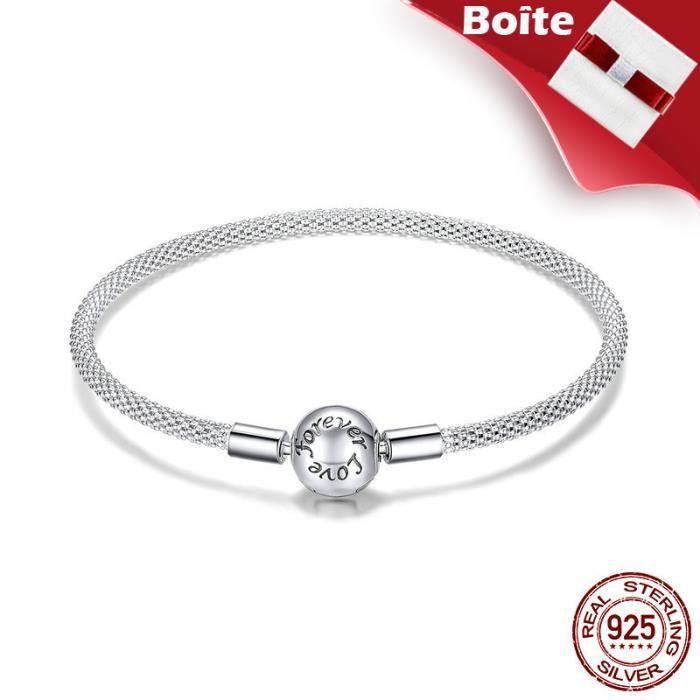 bracelet argent femme 925 pandora