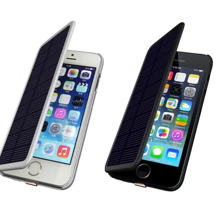 coque batterie solaire iphone 6