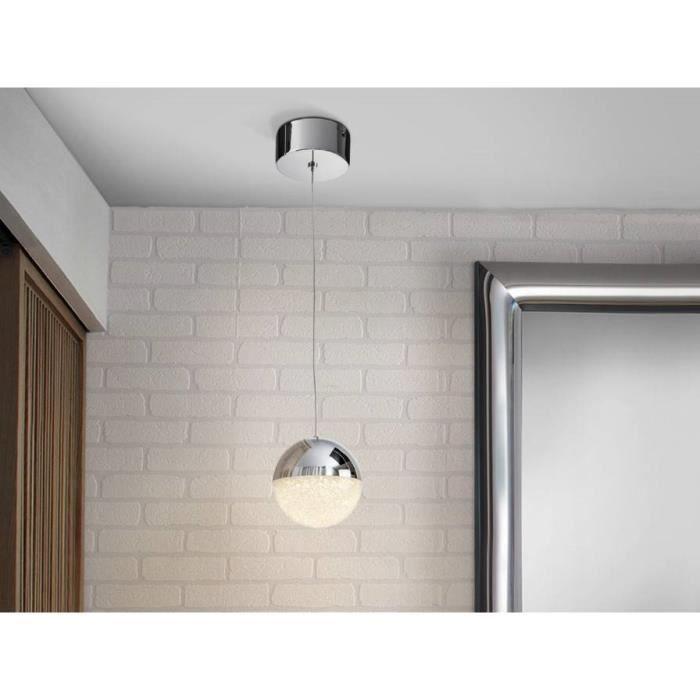 Nouveau Coffret argent//chrome effet métallisé globe abat-jour Table//Plafond