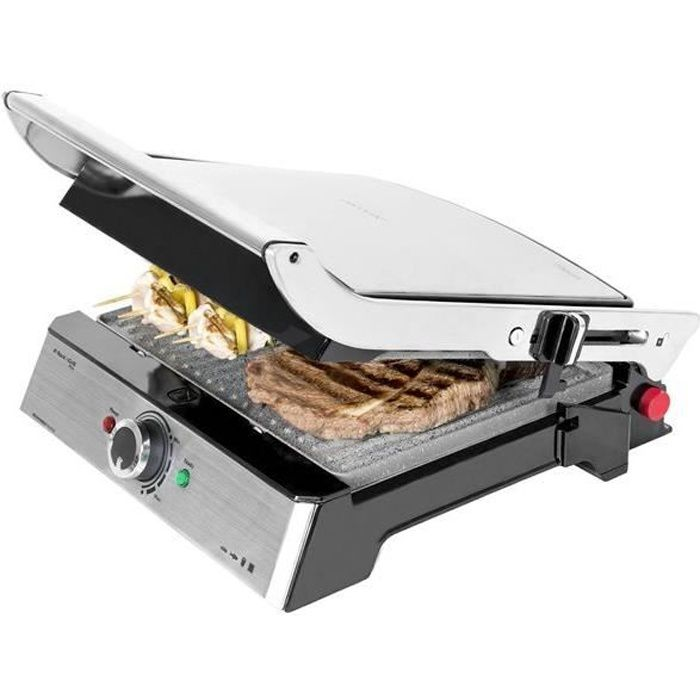 GRILL ÉLECTRIQUE Panini Grill Rock and Grill Pro de Cecotec