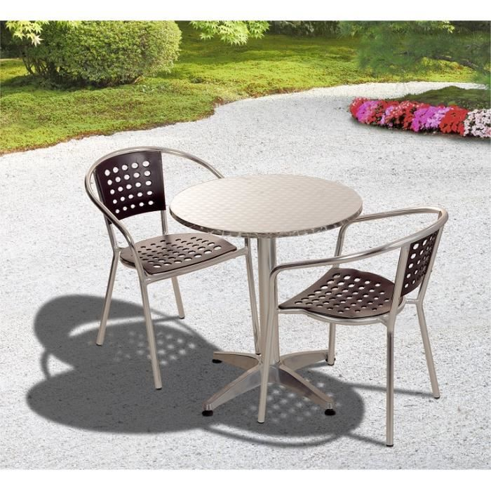 Salon De Jardin En Aluminium Table 8 Places Blanc Textil Ne Fauteuil Pictures To Pin On Pinterest
