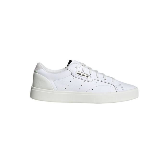 sneakers fille adidas blanc