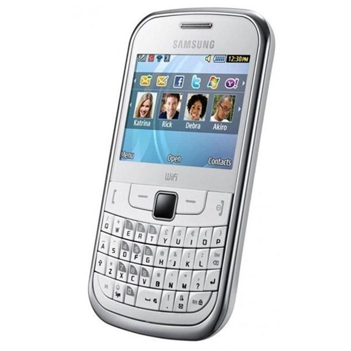 samsung sgh s3350 blanc azerty t l phone portable achat. Black Bedroom Furniture Sets. Home Design Ideas