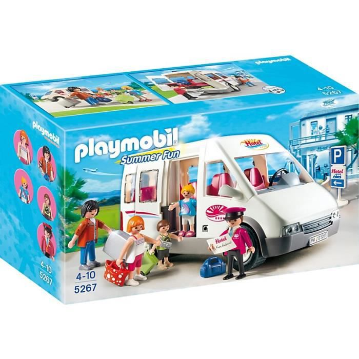 UNIVERS MINIATURE PLAYMOBIL 5267 Mini-Bus de l'Hôtel