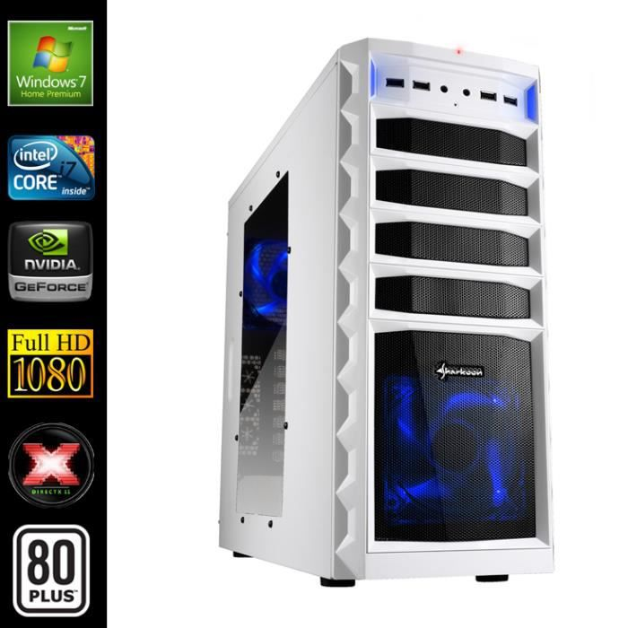 pc gamer advanced intel i7 4770 geforce gtx750ti prix. Black Bedroom Furniture Sets. Home Design Ideas