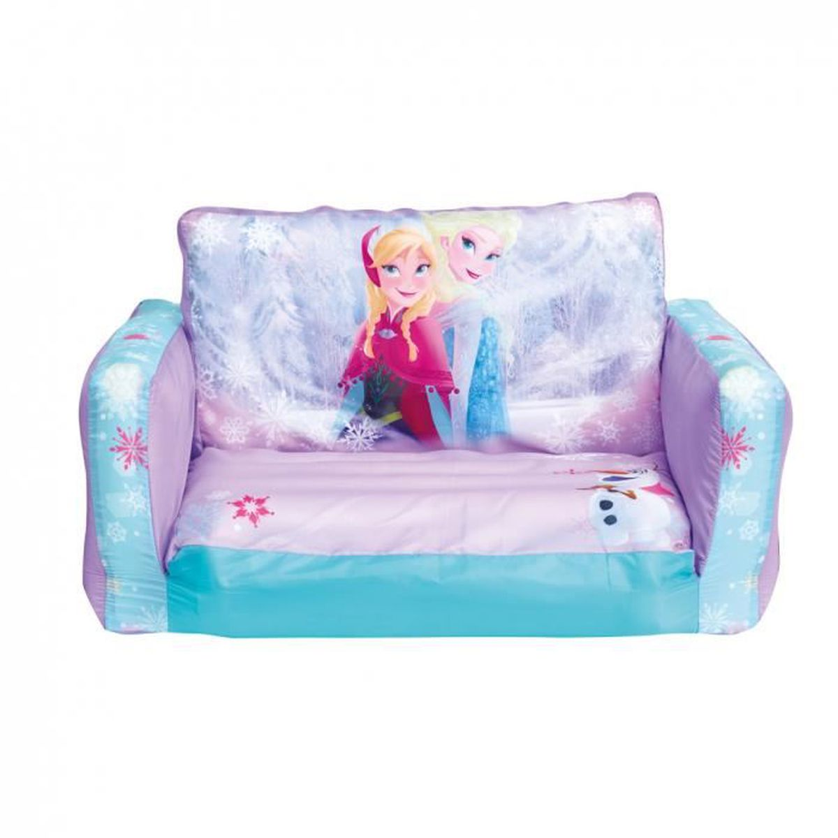 canap rose convertible gonflable assis allong anna et elsa reine des neiges disney achat. Black Bedroom Furniture Sets. Home Design Ideas