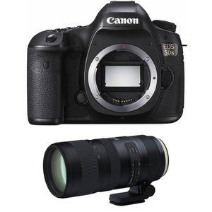 PACK APPAREIL RÉFLEX Canon EOS 5DS + Tamron SP 70-200mm f2.8 Di VC USD