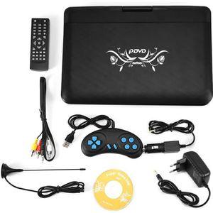 LECTEUR DVD PORTABLE Lecteur DVD portable HD multimédia 13.9in TV résol