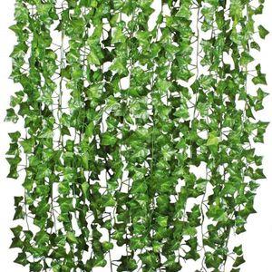 MUR VÉGÉTAL STABILISÉ Artificielle Plantes 10 Pcs 84 Ft Exterieur Lierre