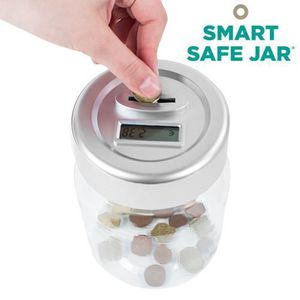 TIRELIRE Tirelire Électronique Numérique Smart Safe Jar -12
