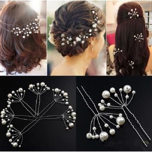 barrette chouchou pingle chignons perles blanches - Etole Mariage Pas Cher