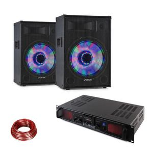 PACK SONO Electronic-star Pack sono DJ PA : Paire d´ Enceint