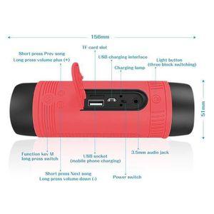 ENCEINTE NOMADE S1 Enceinte Bluetooth Haut Parleur Waterproof Sans