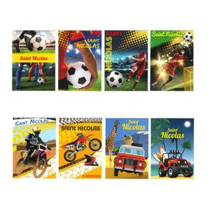 Les Colis Noirs LCN Mod/èle Al/éatoire Lot de 5 Carte Postale Saint Nicolas Disney Mickey Mouse 741