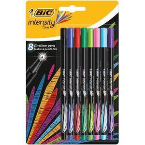 Stylo - Parure BIC® - Feutre d'écriture - Intensity® Fine x8