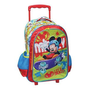 CARTABLE Grand trolley cartable avec roulettes MICKEY 41 cm