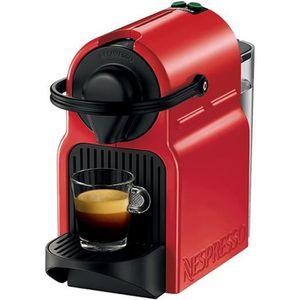 MACHINE À CAFÉ KRUPS XN1005 Nespresso Inissia Red 0,7L - 1200w -