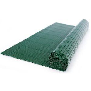 CLÔTURE - GRILLAGE Canisse en PVC, coloris vert - Dim : 200 x 200 cm
